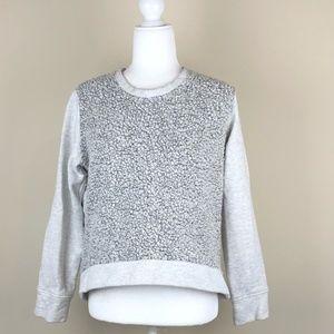 ATHLETA | Gray Pacific Pullover Hi-Low Sweatshirt